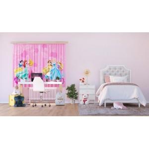 Disney Hercegnők függöny, rózsaszín