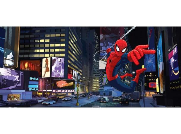 Pókember akcióban gyerekszoba poszter (202 cm x 90 cm)