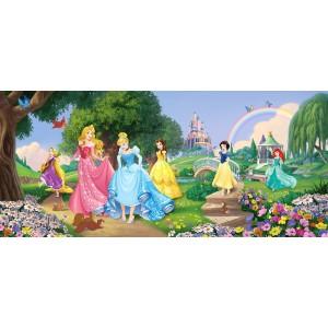 Disney hercegnők gyerekszoba poszter (202 cm x 90 cm)
