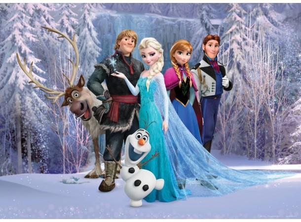 Jégvarázs poszter, Disney