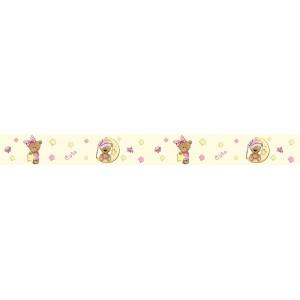 Csillagos macis öntapadós bordűr