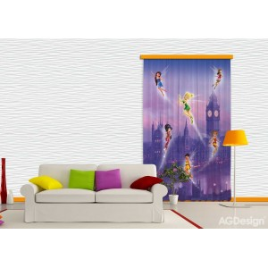 Csingiling kislány függöny, blackout (140 x 245 cm)
