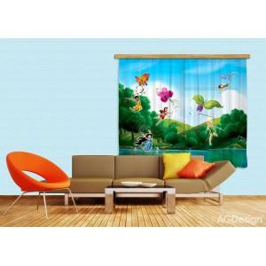 Csingiling tündérek gyerek függöny (180 x 160 cm)