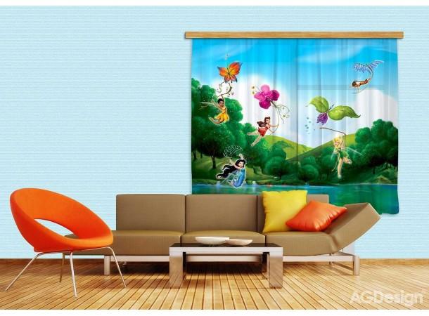 Csingiling dekor gyerek függöny (280 x 245 cm)