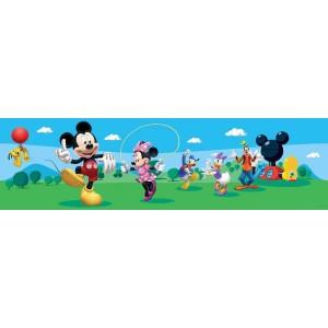 Walt Disney Mickey egér fal bordűr, 5 méter, 14 cm