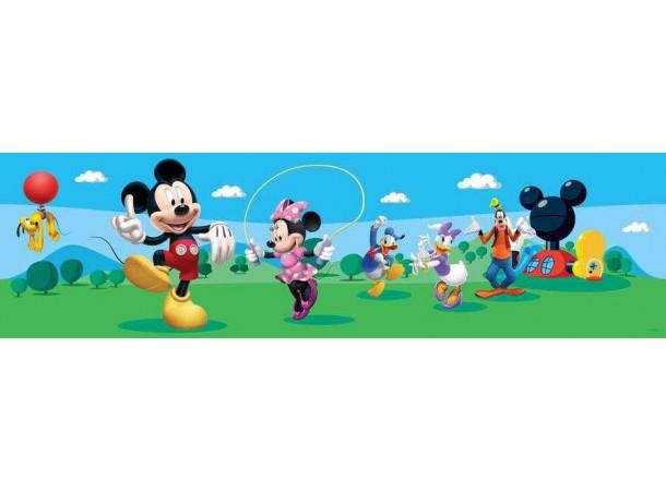 Walt Disney Mickey egér fal bordűr, 5 méter, 10 cm