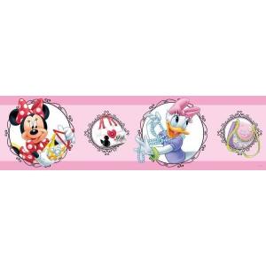 Minnie egér és Daisy kacsa falbordűr, 5 méter, 14 cm