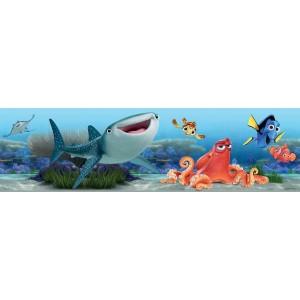 Walt Disney Némó bordűr fal bordűr, 5 méter, 14 cm