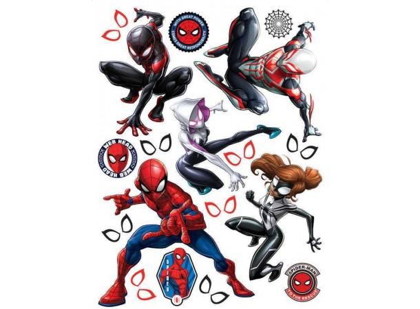 Spiderman faldekor gyerekszobába (65 x 85 cm)
