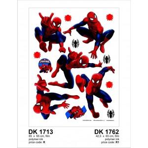 Spiderman gyerekszoba falmatrica (42,5 x 65 cm)