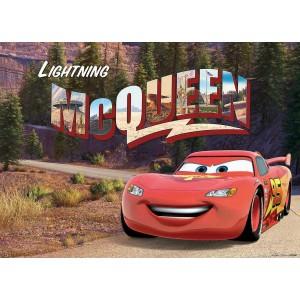 Villám McQueen faltapéta (160 x 115 cm)