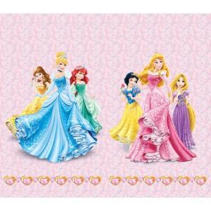 Disney hercegnők gyerek függöny (180 x 160 cm)