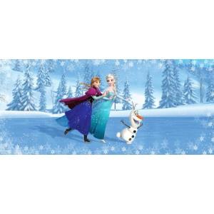 Jégvarázs Anna, Elsa, Olaf poszter (202 cm x 90 cm)
