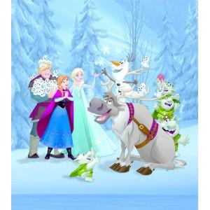 Jégvarázs poszter, Olaf, Elsa, Anna