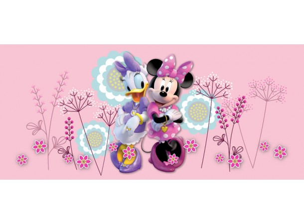 Minnie egeres pink fekvő poszter