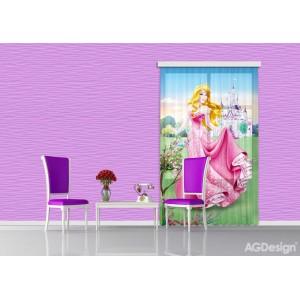 Csipkerózsika gyerek függöny (140 x 245 cm)