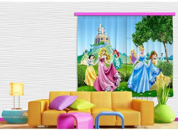 Hercegnők, palota sötétítő függöny (280 x 245 cm)