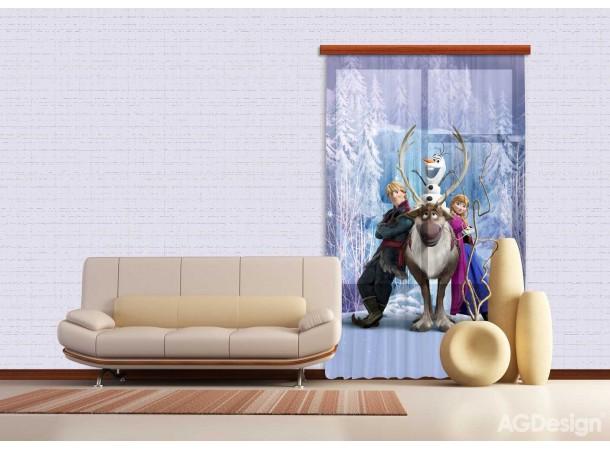 Jégvarázsos függöny, Anna (140 x 245 cm)