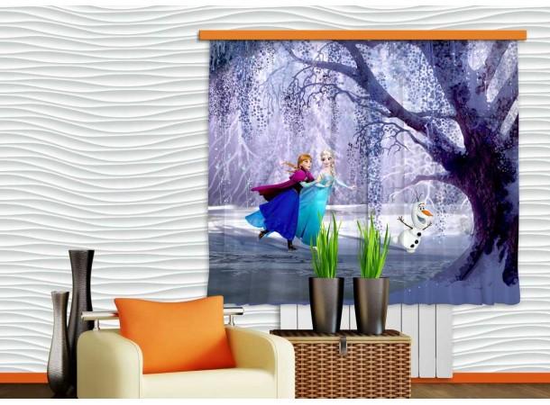 Jégvarázs függöny, lány szobába (180 x 160 cm)