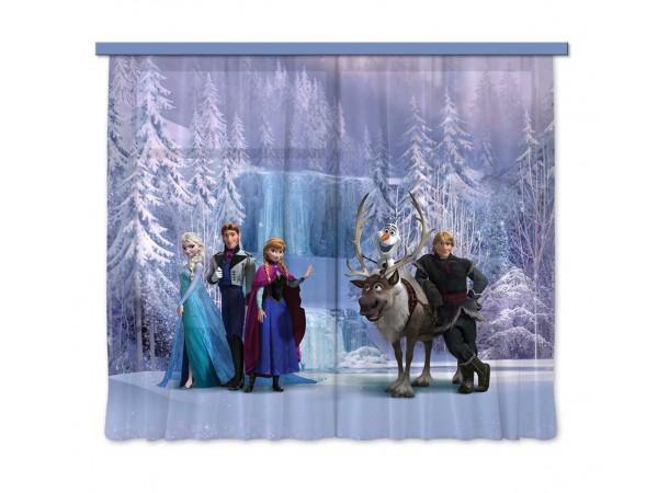 Frozen gyerek függöny, blackout (280 x 245 cm)