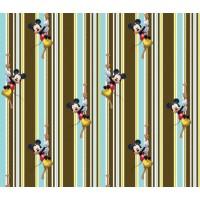 Mickey csíkos gyerek függöny (180 x 160 cm)