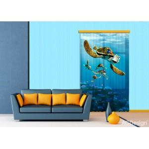 Némó és a teknős függöny (140 x 245 cm)
