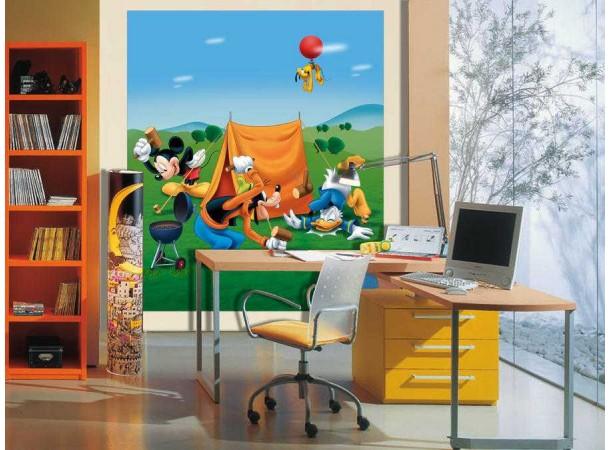Goffy, Donald, Mickey matt poszter (180 cm x 202 cm)