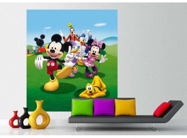 Minnie egér, Mickey egér matt poszter (180 cm x 202 cm)