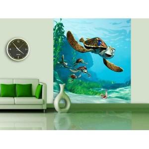 Némó és a teknős poszter (180 cm x 202 cm)