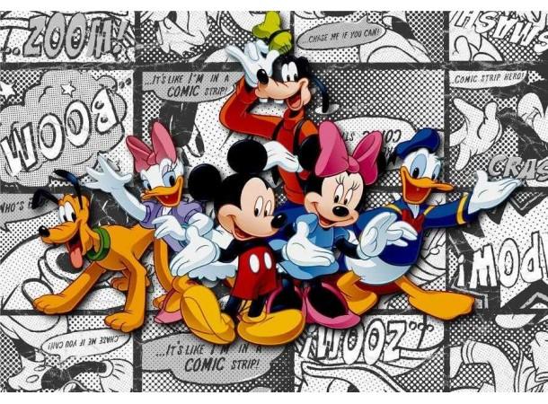 Mickey, Minnie poszter (360 cm x 255 cm)
