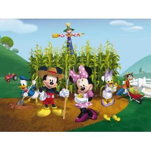 Minnie egér és Mickey egér poszter (360 cm x 255 cm)