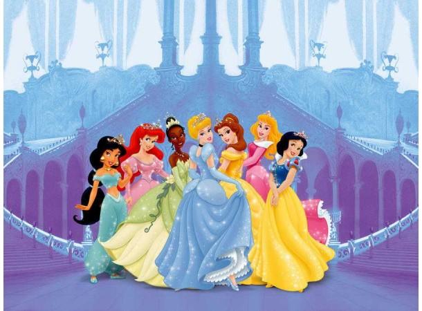 Disney hercegnők poszter (360 cm x 254 cm)