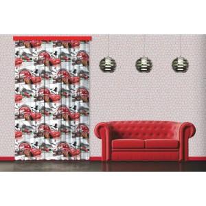 Verdák, mintás dekorfüggöny (140 x 245 cm)